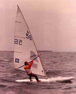 Παλιό Windsurfing Board